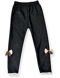 Bebé invierno terciopelo grueso leggings elasticos arco lápiz Denim larga Pantalones ropa,Yannerr niña niño primavera vaqueros tejana bordada Jeans top mono abrigada abrigo traje