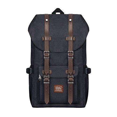 Rucksack Damen Handgepäckrucksack Herren Backpack Schulrucksack KAUKKO 17 Zoll Laptop Rucksack für 15