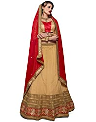 DesiButik Lehenga Choli (LGJ1295_Brown_44)