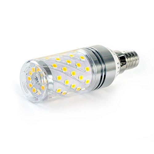 HzSane LED Corn Birnen, 12W Warm Weiß 3000K LED Birnen, 100Watt Glühlampen Äquivalent, E14 Base, 1200 Lumen LED Lichter, Zylinder Glühbirnen, 4-Pack - 4-licht-zylinder