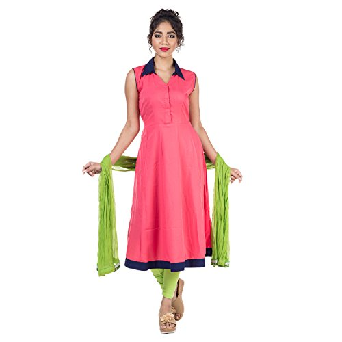Mamosa Rayon Anarkali salwar suit for women anarkali sets for women anarkali gown for latest design redymade / stitched ladies party wear suits for women and salwar suit sets for Women Ethnic Wear with Latest Bollywood Designer Kurti Sets Long, with Leggings/Pants/Churidar with Dupatta for Girl and Ladies Casual wear Partywear Bollywood Designer Fancy Suits and Sets (Tomato Red::Green)