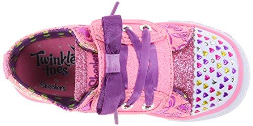 Skechers ShufflesHopscotch Mädchen Sneakers Pink (Pkpr)