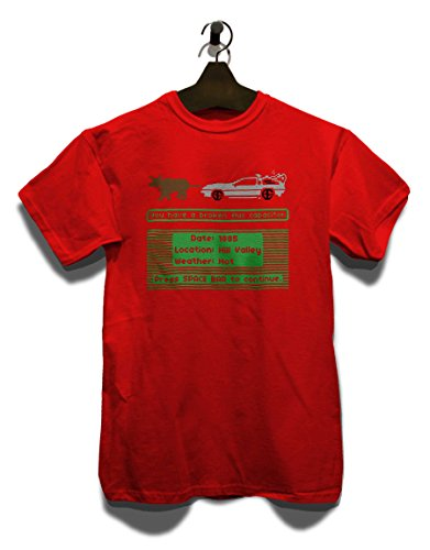 Delorean Trail T-Shirt Rot
