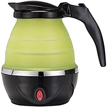 GOURMET GADGETRY GG2586 TRAVELKETTLE Electric Collapsible Travel Kettle, Black