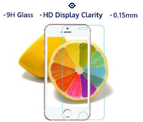 iPhone 6 Plus Screen Protector, Simple Innovation Apple iPhone 6 Plus (5.5 inch) High Defintion (HD) Tempered Glass Premium Screen Protector, thinnest 0.15mm thickness, HD Display Clarity, 8-9 H Hardness, Extreme Sensitivity