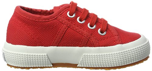 Superga Unisex-Kinder 2750 Jcot Classic Sneaker Rot (Red-White)