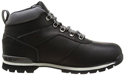 Timberland Splitrock2 Hiker, Herren Stiefel Schwarz (Black Smooth)