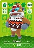 Boone - Nintendo Animal Crossing Happy Home Designer Series 4 Amiibo Karte - 328