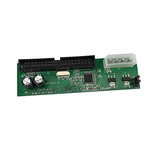 beautygoods Pata IDE a SATA Adapter Converter Plug Module para ATA 100/133 para 3.5/2.5 SATA HDD DVD