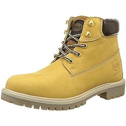 Dockers by Gerli 35fn699-300910 - botas y botines de tacón bajo Unisex adulto, Amarillo - Gelb (GOLDEN Tan 910), EU 44