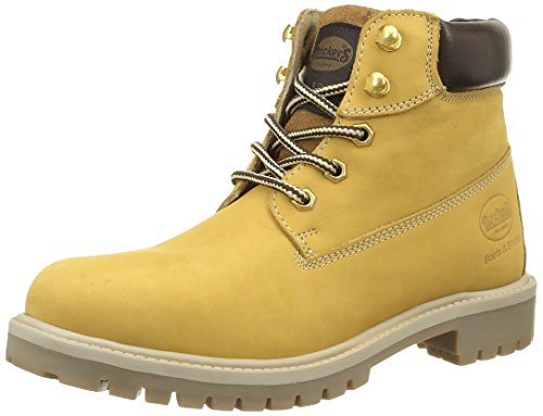 dockers-by-gerli-35fn699-300910-botas-y-botines-de-tacon-bajo-unisex-adulto-amarillo-gelb-golden-tan