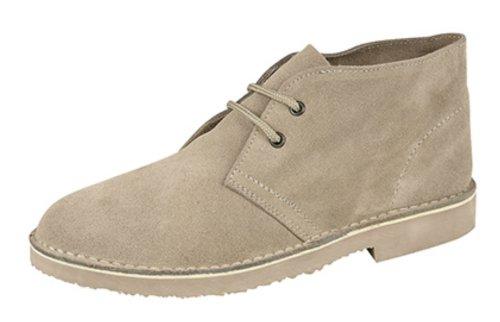 Roamers ,  Unisex - Erwachsene Desert Boots Stone