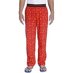 Jack & Jones Men's Cotton Pyjama Bottom (5713441263235_1834576002_M_Formula One)