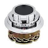 Sugoyi Metallcodeschloss, Disc Coded Dial Lock Metallkombinationsschloss für Schmuckkoffer Safe Box Dokumentenschrank