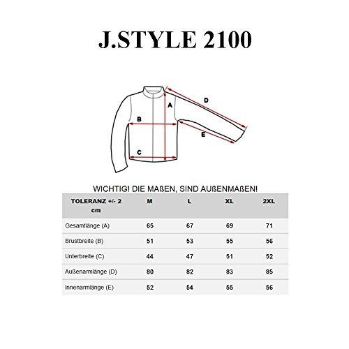 BOLF - Sweat-shirt - Maglione sportivo - con la stampa – J.STYLE 2100 - Uomo Grigio