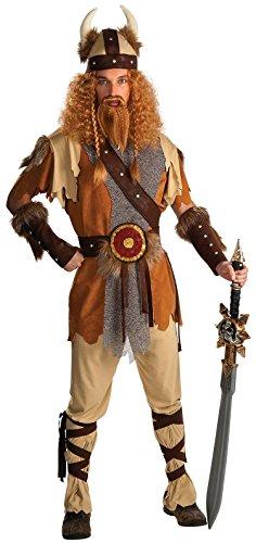 Rubie's Offizielles Viking warrior, Erwachsene Kostüm–Standard Größe