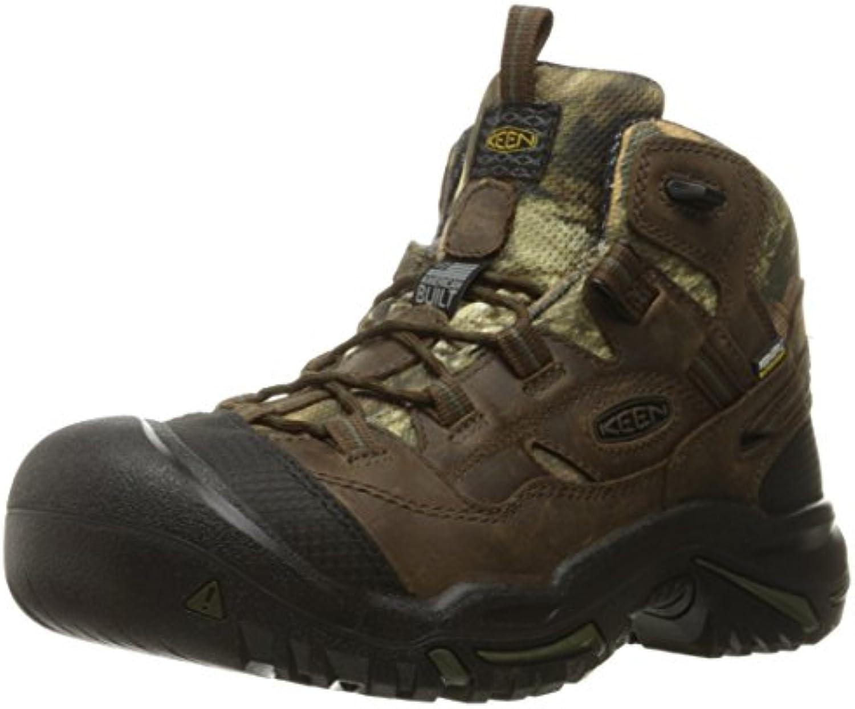Keen Utility Men's Braddock Mid Waterproof Soft Toe Work Boot