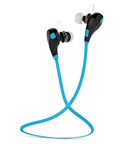 AVMART Professional Bluetooth 4.1 Wireless Stereo Sport Headphones Headset Running Jogger Hiking Exercise Hi-Fi Sound Hands-Free Calling (Blue)