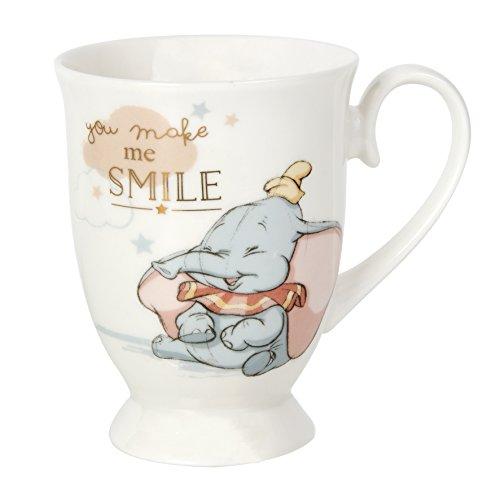 Tazza di Dumbo Disney con scritta [in inglese] 'Dream Big', con confezione regalo.
