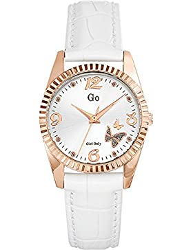 Go Girl Only Damen-Armbanduhr Analog Quarz Leder 698543
