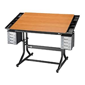 Alvin Craftmaster Ii Deluxe Art Drawing Hobby Table