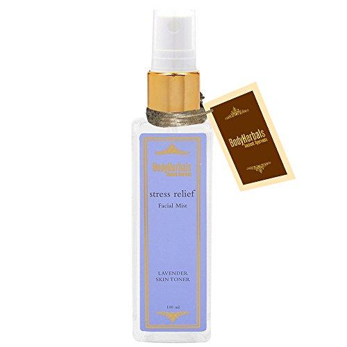 BodyHerbals Lavender Facial Mist (100 ml) Natural Skin Toner,Beauty,Skin Care, Face.