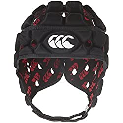 Canterbury - Casco de rugby con ventilación negro negro Talla:medium