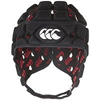 Canterbury Ventilator R/A 2002 - Casco de rugby, color negro, talla XS