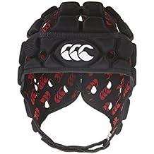 Canterbury - Casco de rugby con ventilación negro negro Talla:L