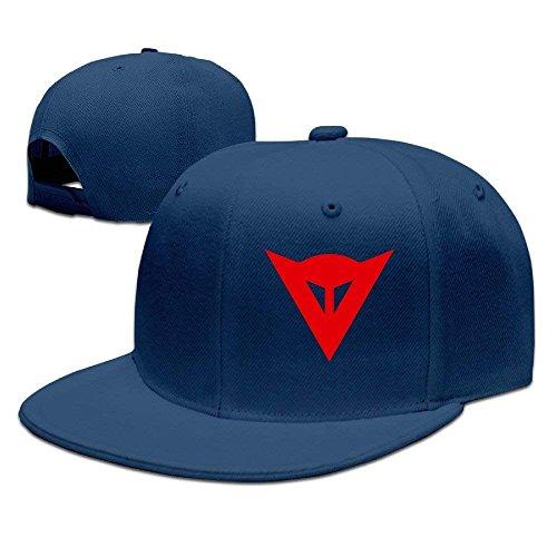 Preisvergleich Produktbild RO-HG Cap Hat Dainese Logo Adjustable Snapback Caps Baseball Flat Hat Navy