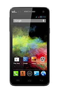 Wiko Rainbow Smartphone WI-FI Bluetooth AndroidTM 4.2.2 (Jelly Bean) 4 Go Noir (5 pouces)