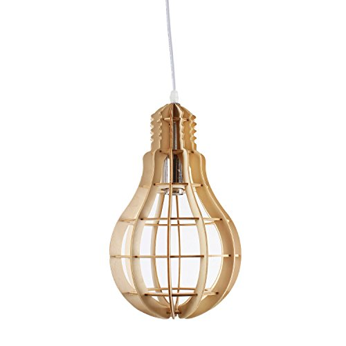 Bulbe Shaped wooden Light