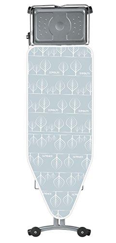 POLTI FPAS0045 Vaporella Bügeltisch Top mit Bügelfläche XL, grau/metall