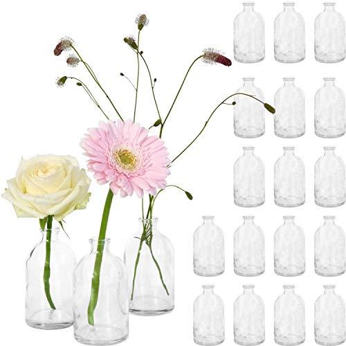 Giessle 20x Mini Vase Glasfläsch...