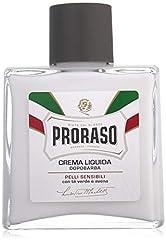 Idea Regalo - Proraso Crema Liquida Dopobarba Pelli sensibili con tè verde e avena, 100 ml
