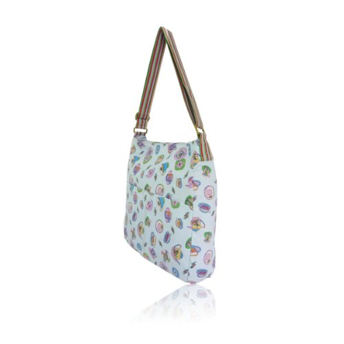 Borsa a tracolla – Tea Party – Anna Smith – Borsa a tracolla Deep Sky Blue