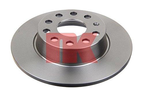 Preisvergleich Produktbild NK 2047137 Bremsscheibe Scheibenbremsen, Bremsscheiben (x2)