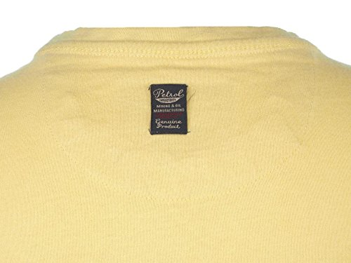 PETROL INDUSTRIES -  T-shirt - Uomo Giallo