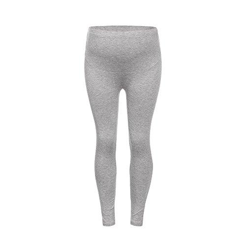 Leggings de maternité sans couture pantalon d'impression des femmes extensible pantalons grossesse...