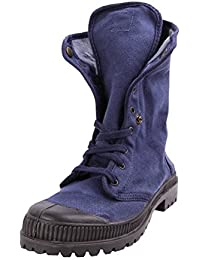 Natural World Vegan Bota 2516 Boton Woman Blue