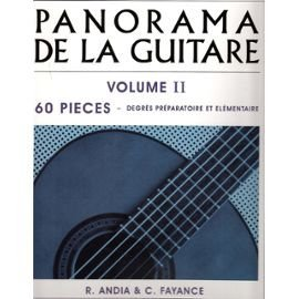 Rafael Andia: Panorama de la Guitare Volume 2
