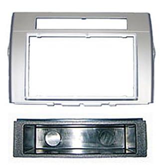 Autoleads FP-11-11/S - Mascherina per autoradio da 1 DIN, specifica per Toyota Corolla Verso, Colore: Argento