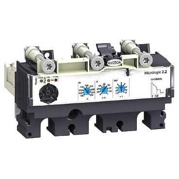 SCHNEIDER ELEC PBT - PAC 55 09 - UNIDAD CONTROL MICROLOGIC 2 2-G 40A 3 POLOS 3R