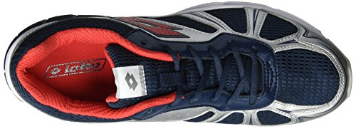 Lotto Sport Speedride 600, Scarpe Running Uomo Blu (Blu Avi/flame)
