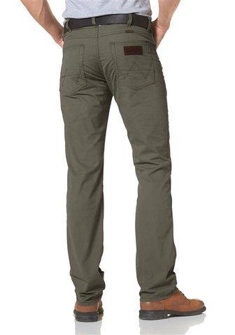 Wrangler Arizona-Jeans-Recht-Herren Gr. W33/L34, Vert (Dusty Olive) Original Arizona Jean