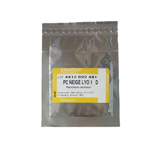 Fromage Culture | Penicillium Candidum | lyophilisés Sachet Lyo 1d pour 250–300 l Lait