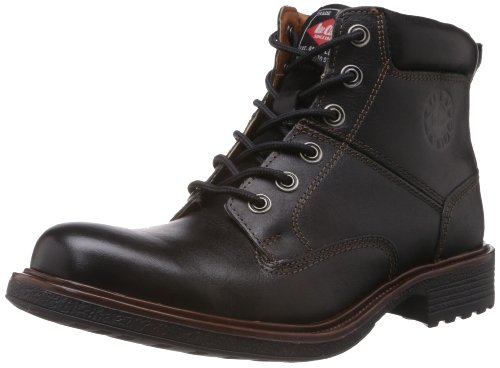 Lee Cooper Men's Tan Leather Boots - 7 UK