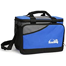 Große 15L große, und faltbare Kühltasche von Kuulbag fürs Auto, beim Sport oder Outdoor. Inklusive Umhängegurt.