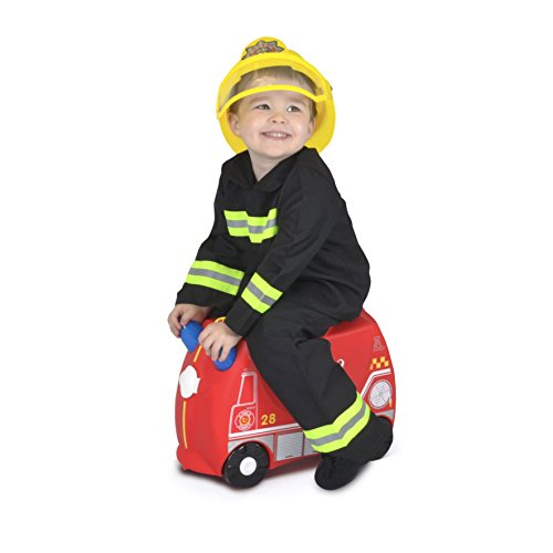 Image of Trunki Ride-on Suitcase - Frank the Fire Engine