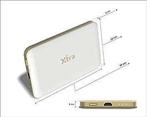 XTRA 3000mAh Ultra Slim Lightning Power Bank Lithium Polymer Battery